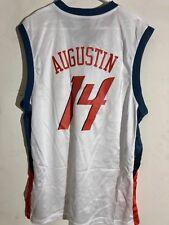 Adidas NBA Jersey Charlotte Bobcats D.J. Augustin White sz S 1575b504a