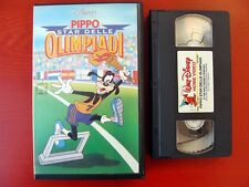 VHS.08) PIPPO STAR DELLE OLIMPIADI - DISNEY
