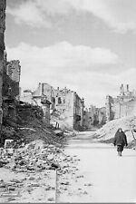 WW2 - Pologne - Ruines de Varsovie fin 1944