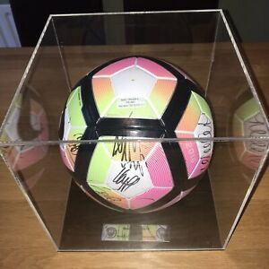 Nike Premier League 2016/17 Ordem 4 Promo Football Manchester City Signed Ball