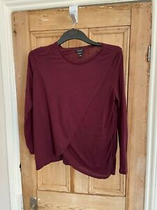 Long sleeved maternity t-shirt from New Look size 14