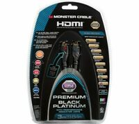Monster UltraHD Premium Black Platinum Ultimate High-Speed 4K HDMI Cable 3m