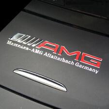 AMG Interior Emblem Aluminum Car Decal  Sticker Badge Decoration Logo  Gifts