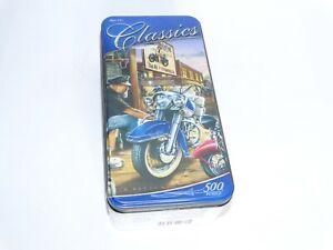 Master Pieces Dan Hatala Classics Motorcycle 500 Piece Jigsaw Puzzle