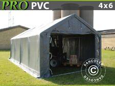 Storage Shelter Strong PVC Tent Heavy Duty Shed Garden Portable Garage Gazebo 4m X 6m