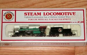 BACHMANN 51-530-11 N STEAM LOCOMOTIVE CONSOLIDATION 2-8-0 TENDER GREAT NORTHERN