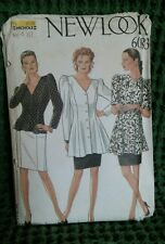 6083 New Look Sewing Pattern Skirt/Jacket 1990's Size Sm-Lg  8 - 18 New OOP
