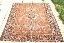 Antique HANDMADE Persian Heriz Karaje rug 180 x 145 cm