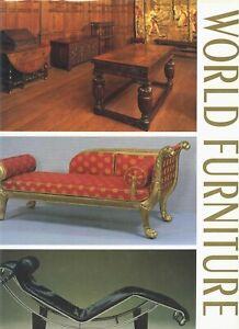Antique Furniture - Types Periods Origins / Scarce Oversize Illustrated Book