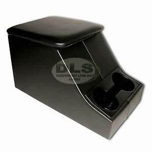 Centre Cubby Box Black Vinyl Land Rover Defender (DA2035)
