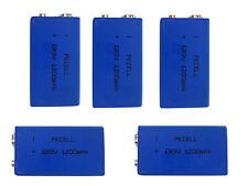 5 x ER9V Block(1200mAh)Lithium Langzeitbatterie Rauchmelder (5 Batterien)