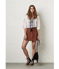 Genuine Suede Tan Skirt 12