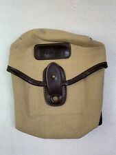 Vintage Nikon Tan Khaki Canvas Camera Belt Pouch Bag  Japan