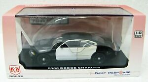 2008 Dodge Charger Police Cruiser 1/43 First Response MB