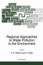 Regional Approaches to Water Pollution in the Environment 20 (2011, Paperback)