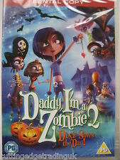 Daddy, I'm a Zombie 2:  Dixie Saves the Day! (DVD, 2014) NEW SEALED PAL Region 2