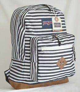 New JanSport City View Laptop Backpack -- Simply Striped