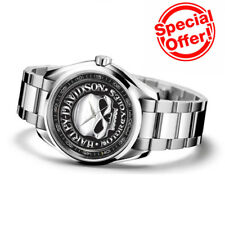 Limited! Harley Davidson Motorcycles Sport Metal Watch Mens Wristwatches