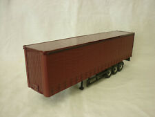Corgi Modern Truck/Heavy Haulage Plain Brown Curtainside Trailer