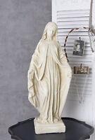 Madonna Figur Shabby Chic Heiligenfigur Mutter Gottes Kirchenfigur Heilige Maria
