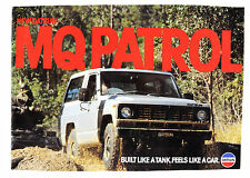 Nissan Patrol 160 1980 8 page coloured factory sales brochure