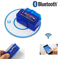 OBDll Bluetooth OBD2 ELM327 MiNi Car Auto Diagnostic Scanner Adapter Reader
