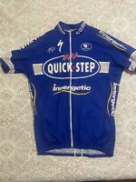 Quick Step Cycling Jersey. Full Zip XL