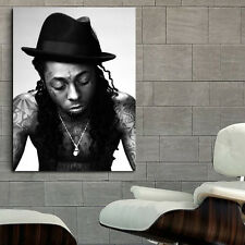 Poster Mural Lil Wayne Rapper Musician 40x54 inch (100x135 cm) on Adhesive Vinyl