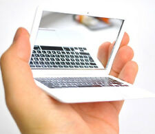 Creative Pocket MacBook Air Laptop Clear Glass Women Cosmetic Beauty Mirror Mini