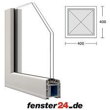 Fenster VEKA Keller oder Garage Kunststoff PVC Festverglast 40 x 40 / 60 x 40 cm