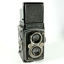 Rolleiflex Automat 6x6 120 TLR With Zeiss Tessar 75mm f/3.5 Lens From c1940