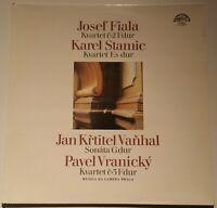 Fiala Stamic Vanhal Vranicky Musica da Camera Praga Supraphon Stereo 1111 2470 G