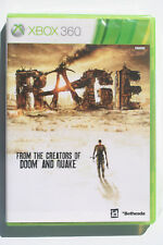 Rage Xbox 360 NTSC-J Asian English Version in Mint and Complete Condition