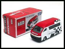 TOMICA SHOP TOYOTA HIACE VAN 1/64 TOMY NEW DIECAST CAR ( BOX LITTLE OLD )