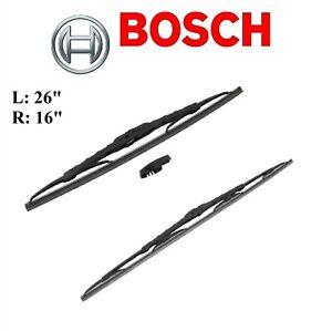2PCS BOSCH FRONT D-Connect Wiper Blade For XV CROSSTREK 2013-2015/RAV4 2013-2020
