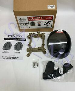 OPS-CORE LUX LINER H-NAPE KIT FOR FAST HIGH CUT & MARITIME HELMET S/M TAN NEW