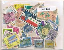 Irak    US  Paquete  200 sellos diferentes