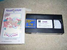 Popples,  (VHS, 1986)(Childrens)  Cartoon TV Series! RARE RARE RCA/Columbia