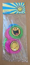 8 Trinkhalme Smiley Party Deko Geburtstag