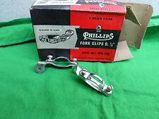 Vintage English Bike Rod Brake Rims Shoes Pads 50mm 4PC