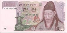 KOREA SOUTH,1000 WON, ND(1983), aUNC