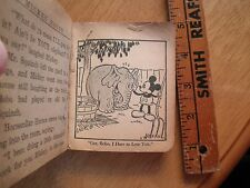 Mickey Mouse 1930's Big Little Book Bobo the Elephant Goofy Minnie Blb 1160