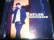 Taylor Henderson Self Titled (Australia) CD Feat Borrow My Heart