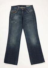 Gas ariet jeans W29 42 43 dritti gamba dritta straight fit donna usati blu T1755