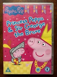 Peppa Pig  DVD Princess Peppa British TV / Children's Cartoon Favourite