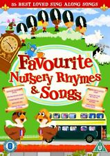 FAVOURITE NURSERY RHYMES and SONGS DVD Region 4 New & Sealed &