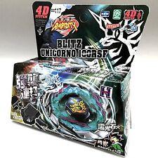 Blitz Unicorno / Striker 100RSF Metal Fury Masters 4D Beyblade + LAUNCHER USA