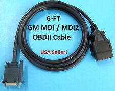 GM MDI MDI2 Multiple Diagnostic Interface OBDII OBD2 DLC Cable 3000211 EL47955-4