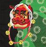 Furoshiki Wrapping Cloth Japanese Fabric Shishi Mai Lion Dance Cotton 50cm