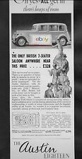 AUSTIN MOTOR CO ENGLAND AUSTIN 18 BRITISH MADE 7 SEATER 1937 HEAP OF ROOM AD